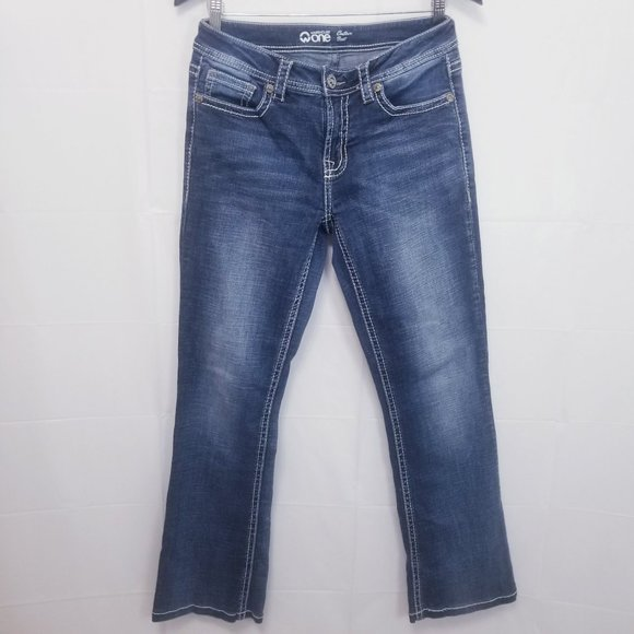 WAREHOUSE ONE CONTOUR BOOTCUT JEANS